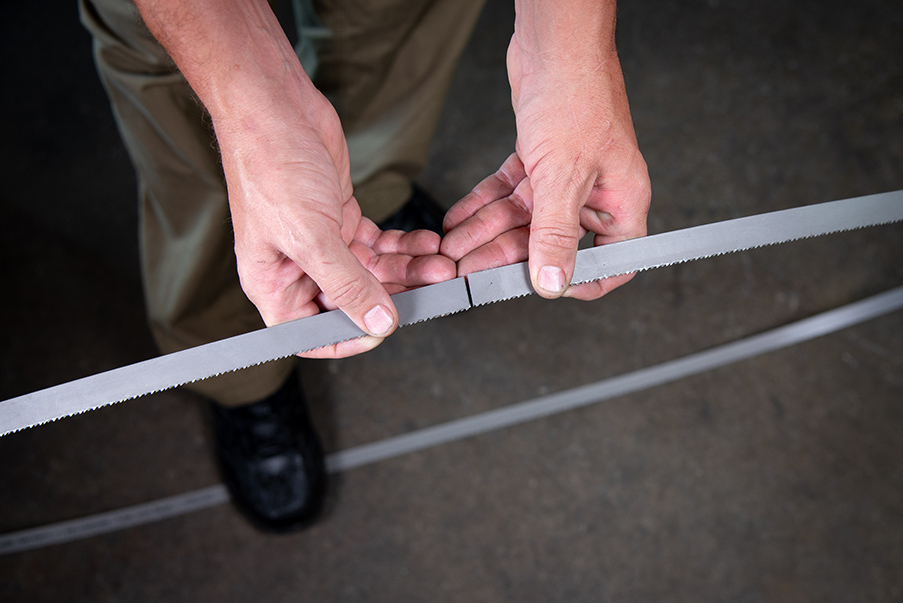 How to Measure Your Bandsaw Blade